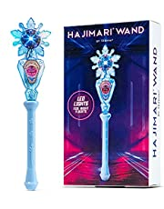 Hajimari Magic Spinning Wand - LED Light Up Wand for Hajimari Nova Orb | Total Orb Control with The LED Wands for Kids | Spinning Light Toy Color Changer | Princess Light Wand Toy Works Like Magic