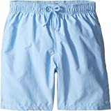 Vilebrequin Kids Boy's Coral Water Reactive Swim Trunk (Big Kids) Blue Swimsuit Bottoms