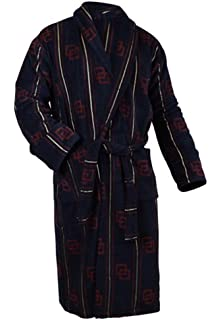 813ee23fe3 Bown of London Mens Colorado Dressing Gown - Beige Navy White ...