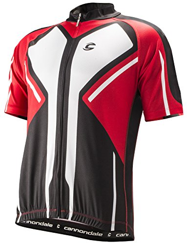 Cannondale Performance 2 Jersey - BLACK/RACING RED, LARGE