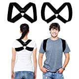CAMP BEN Original Posture Corrector Figure 8 Clavicle Brace for Women and Men (LG 38-44