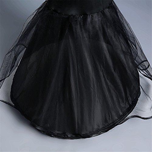 e49af2e4b6 Aimeely Women Mermaid Black Tutu Dress Classic Maxi Petticoat Bubble Skirt  cheap