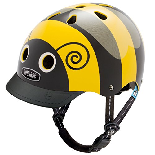 Nutcase - Little Nutty Street Bike Helmet, Fits Your Head, Suits Your (Bumble Bee Child Gloves)