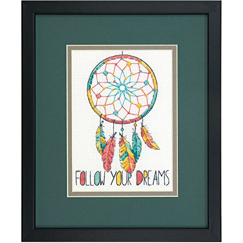 Dimensions 70-65158 Dream Catcher Counted Cross Stitch Kit,  7
