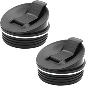 2 Pack Sip & Seal Lids for 16oz Cups Replacement Parts for Nutri Ninja Blender BL660 BL770 BL740 BL771 BL773CO QB3000/QB3000SSW/QB3004/QB3005