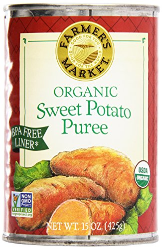Farmer's Market Organic Sweet Potato Puree, 15 oz