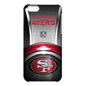3D iPhone 5C Case,Nupro Lightweight Absorbing and Scratch Resistant Cover San Francisco 49ers CoverBumper Case