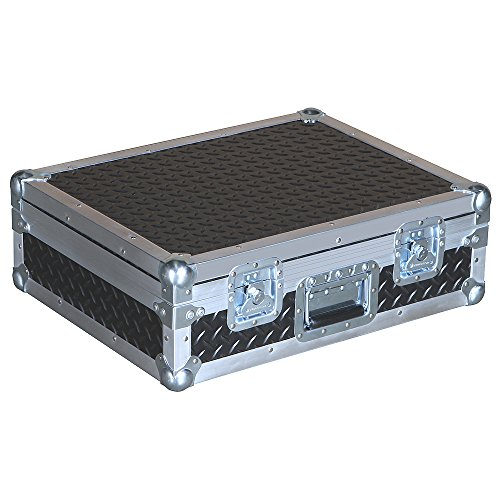 Mixers & Small Units 3/8 Ply Professional ATA Case with Diamond Plate Laminate Fits Mackie Cfx12 Mkii -