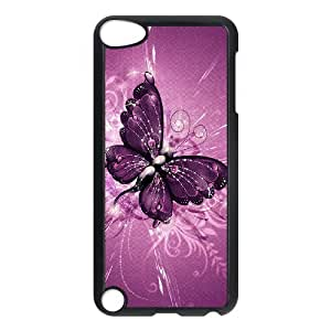 HOPPYS Customized Print Butterfly Pattern Hard Case for iPod Touch 5