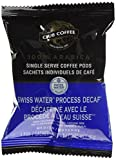 Club Coffee One Cup Swiss Water Decaf Coffee, Keurig Compatible, 20-Count