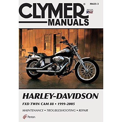 Clymer Repair Manual for Harley Dyna FXD Twin Cam 88 (Factory Repair Manual)