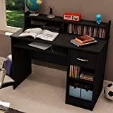 Prountet Home Office Computer Desk Laptop PC Study Table w/Wrawer & Keyboard Tray