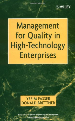 Management for Quality in High-Technology Enterprises (Wiley Series