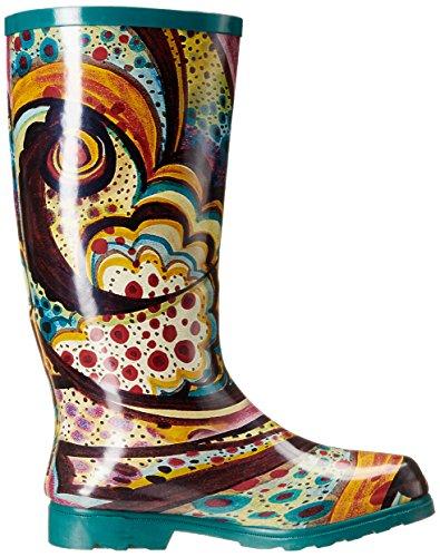 Monet Boot Nomad Puddles Turquoise Women's Rain ZwXq6Aqnx