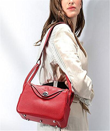 bolsa Paquete grano Medicina rojo de de Dama Bolsas mdico de de hombro cuero bolsa Platinum Psoriasis bolso qwzZY1