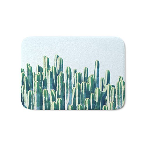 "Society6 Cactus V2 #society6 #decor #fashion #tech #designerwear Bath Mat 17"" x 24"""