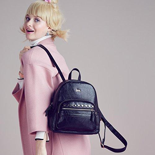 Femme rivetsBBBP117 et de rétro série et Sac avec la Mode 01A d'école Dos la Barbie à fillede à Rue Ttwx776p