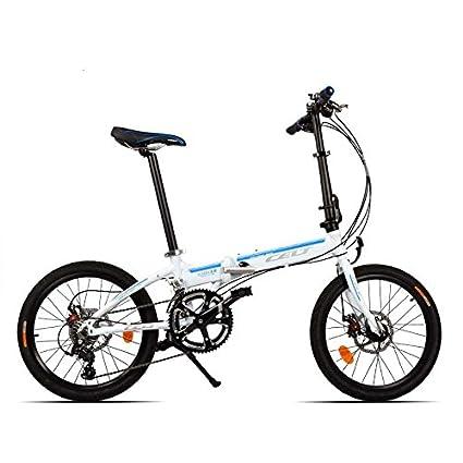 20 Bicicleta plegable pulgadas bicicleta plegable Mini Bike aleación de aluminio del marco 18 Velocidad