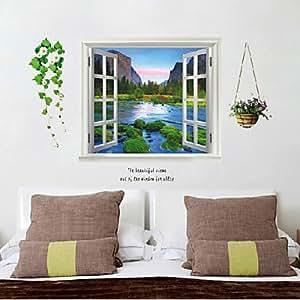 Falsa ventana Póster, Póster decorativo para pared
