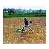 Portolite Economy 4'' Youth Portable Baseball Pitching Mound TPM-4434