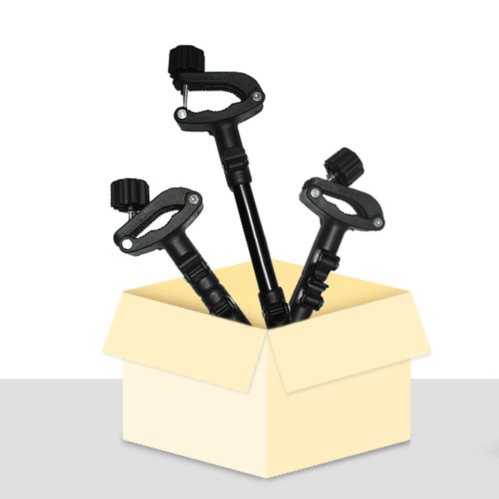 Conector para cochecito Conector 3pcs Accesorios para la articulaci/ón Cochecito gemelo de liberaci/ón r/ápida Sill/ón de paseo F/ácil uso Acoplador ajustable Seguridad Gancho Gancho Universal port/átil