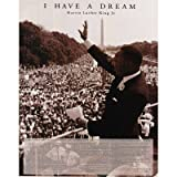 Professionally Plaqued Martin Luther King Jr (I Have a Dream) Art Poster Print - 16x20 with RichAndFramous Black WoodMounting