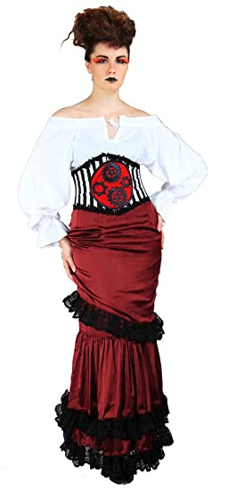 Steampunk Dresses | Women & Girl Costumes Steampunk Victorian Skirt $56.95 AT vintagedancer.com