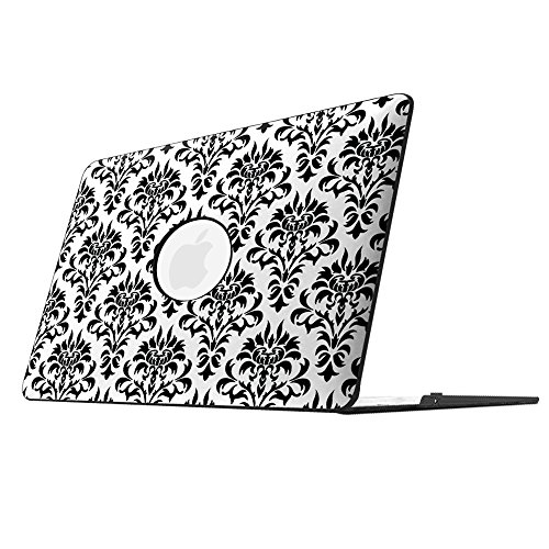 Fintie MacBook Air 13 Inch Case - Fits Previous Generations A1466 / A1369 (Will Not Fit 2018 MacBook Air 13 with Touch ID A1932), Slim PU Leather Coated Plastic Hard Cover Snap On Case, Versailles
