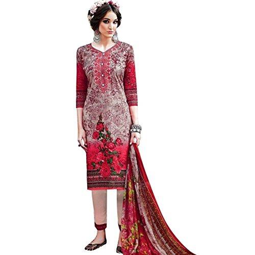 Indian Cotton Salwar Kameez - 8
