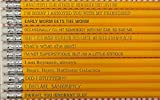 Funny The Office TV Show Pencils Sayings Gift For School Students