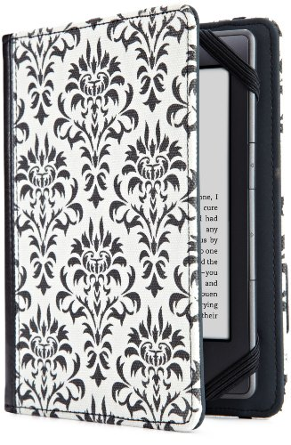 (Verso Versailles Cover for Kindle, Black/White (fits Kindle Paperwhite, Kindle, and Kindle Touch))