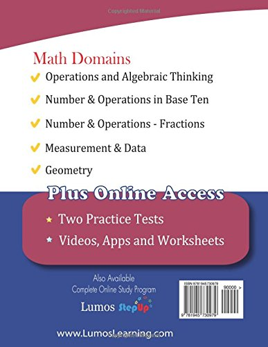 ISTEP+ Test Prep: 4th Grade Math Practice Workbook and Full-length ...