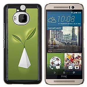 Caucho caso de Shell duro de la cubierta de accesorios de protección BY RAYDREAMMM - HTC One M9Plus M9+ M9 Plus - Pirámide de la Vida