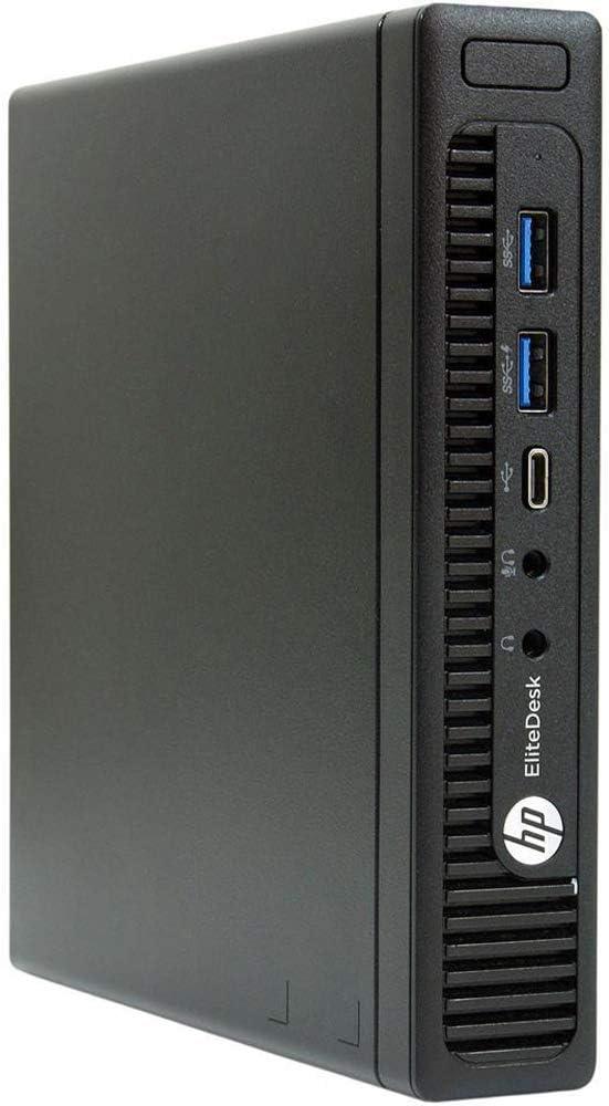 HP EliteDesk 800 G2 Desktop Mini Business PC, Intel Quad-Core i5-6500T up to 3.1GHz 16GB DDR4 960GB SSD Win 10 Pro 64-bit (Renewed)