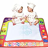 LMMVP Water Drawing Painting Writing Mat Board Magic Pen Doodle Gift 25 x 16.5cm (80*60cm)