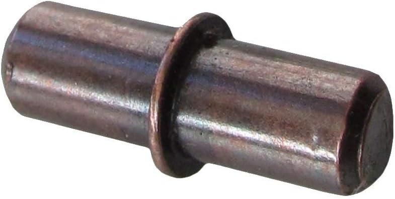 25pcs 5mm Zinc Plated Split-Collar Cabinet Shelf Support Pin Peg