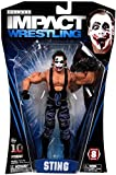 Jakks Pacific TNA Wrestling Deluxe Impact Series 8 Joker Sting Action Figure