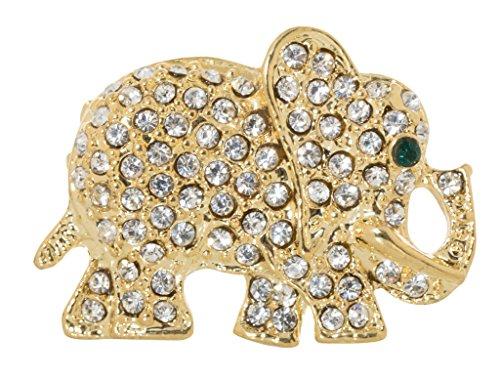 Lucky Elephant Brooch Pin 0.9