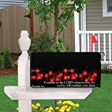 VictoryStore Mailbox Cover Outdoor Decoration, Proverbs 16:3, Religious Design 2, Magnetic Mailbox Cover