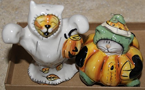 Halloween Cats in Costumes Salt & Pepper Shakers - 4