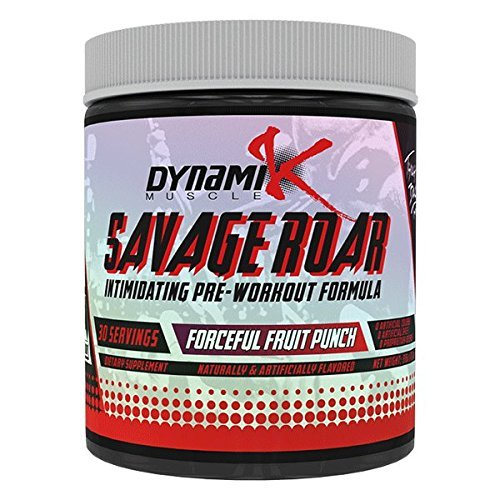 Savage-Roar-Dynamik-Muscle-Pre-Workout-Formulated-By-Kai-Greene-Forceful-Fruit-Punch-315-grams