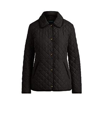 Lauren Ralph Lauren Womens Quilted Jacket Coat Barn L At Amazon