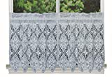 Battenburg Lace Shower Curtain Creative Linens Knitted Crochet Lace Kitchen Curtain 24