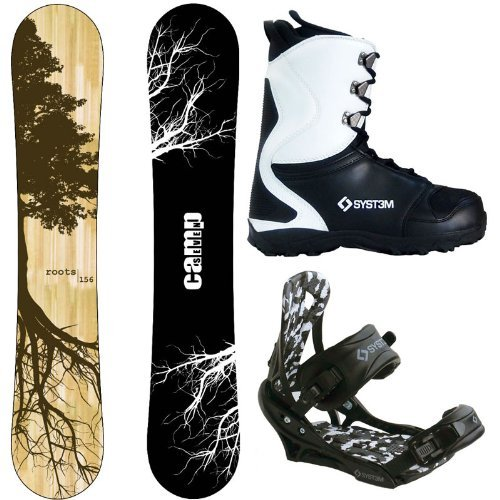 2018 Camp Seven Roots CRC and APX Complete Men's Snowboard Package