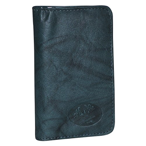 Buxton Heiress Pik-Me-Up Snap Card Case, deep Teal