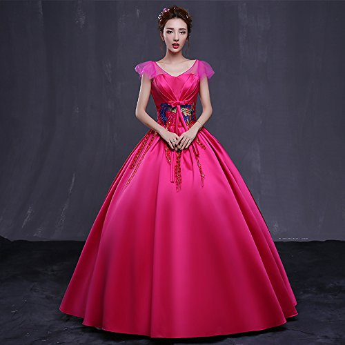 Partito red Vestito JKJHAH Di A Femminile Moda 155 Da qS66x70E