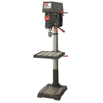 Dayton Floor Drill Press, 20 in, 1.5 HP, 120/240 - - Amazon.com on