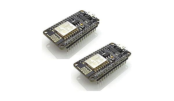 SODIAL 2 Piezas Versión Esp8266 Nodemcu Lua Cp2102 Esp-12E Placa de Desarrollo de Internet WiFi Serie de Código Abierto Módulo Inalámbrico Funciona Genial ...