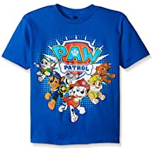 Paw Patrol Little Boys' Just Yell For Help Toddler Short Sleeve Tee