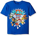 Paw Patrol  Little Boys' Group T-Shirt, Royal, Large-7